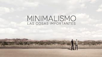 Minimalismo: las cosas importantes (2016)